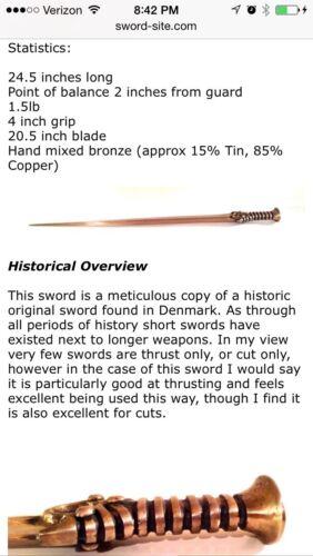 Bronze Age Sword Germanic By Chris Levatino