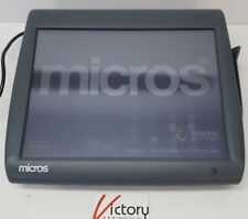 Used Micros Workstation 5 System Unit400814 001touch Screen Withwindows V 16