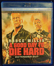 A GOOD DAY TO DIE HARD (BLU-RAY/DVD, 2013, 2-DICS SET