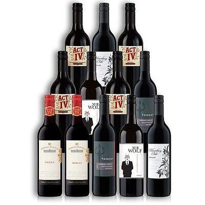 Sensational Red Wine Mix Case (12 Bottles)