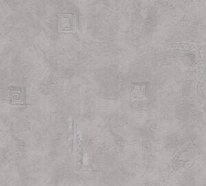 12-Rollen-Vliestapete-Tapete-AS-Creation-New-Look-grau-Ornamente-191687-1916-87
