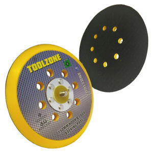 "Hook And Loop Velcro Backing Pad 150mm 6"" For Sanding Discs & Polishing Bonnets 5055143921175"