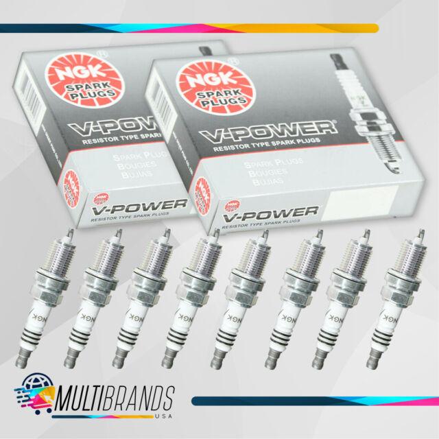 8 V-power Fits FORD NGK 3951 TR55 Spark Plug