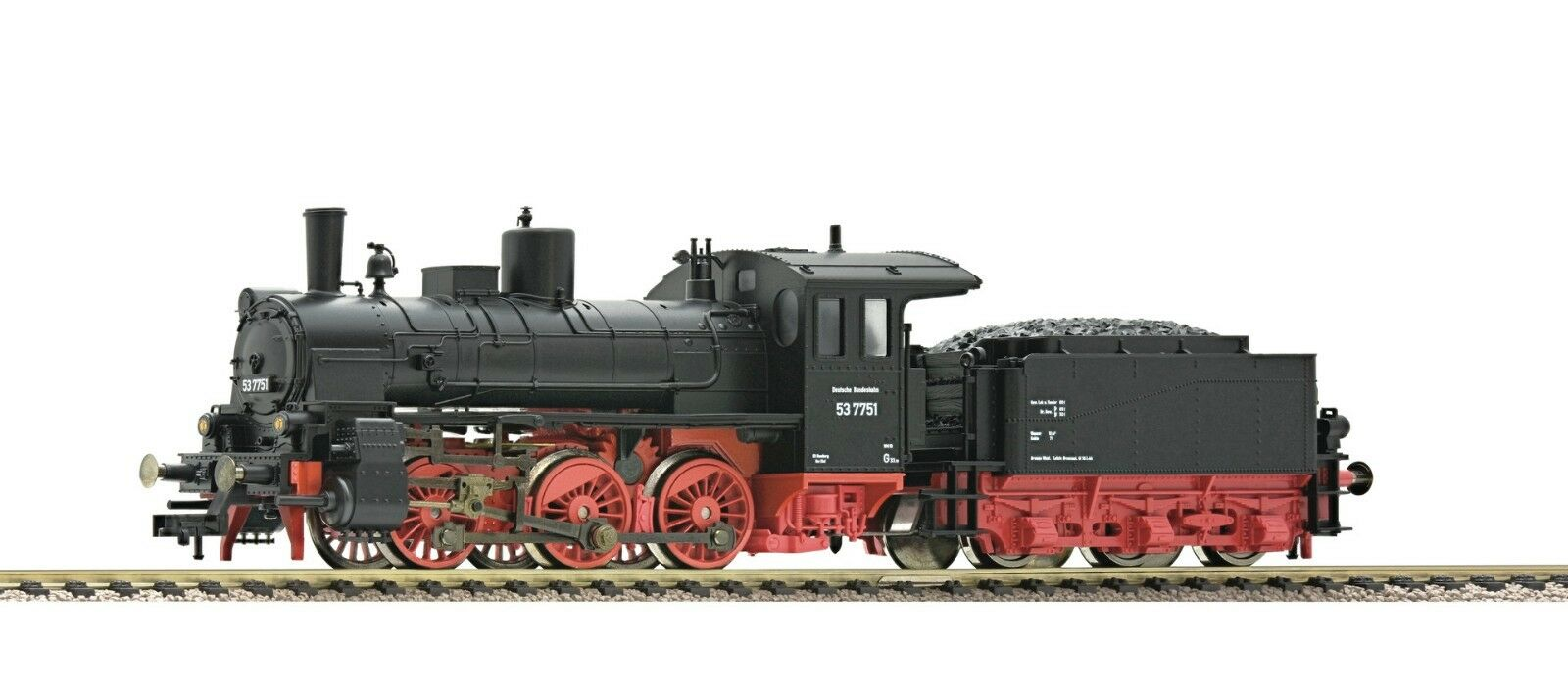 Fleischmann 412401 schlepptenderlok br 53 DB EP III máquina de vapor nuevo embalaje original