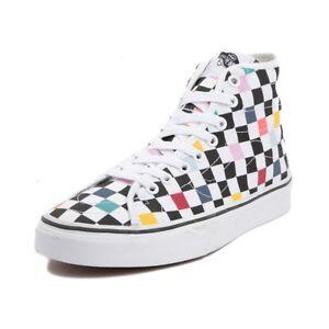 d3149dccdc3e6c NEW Vans Sk8 Hi Decon Party Checker Board Checkerboard shoe classic ...