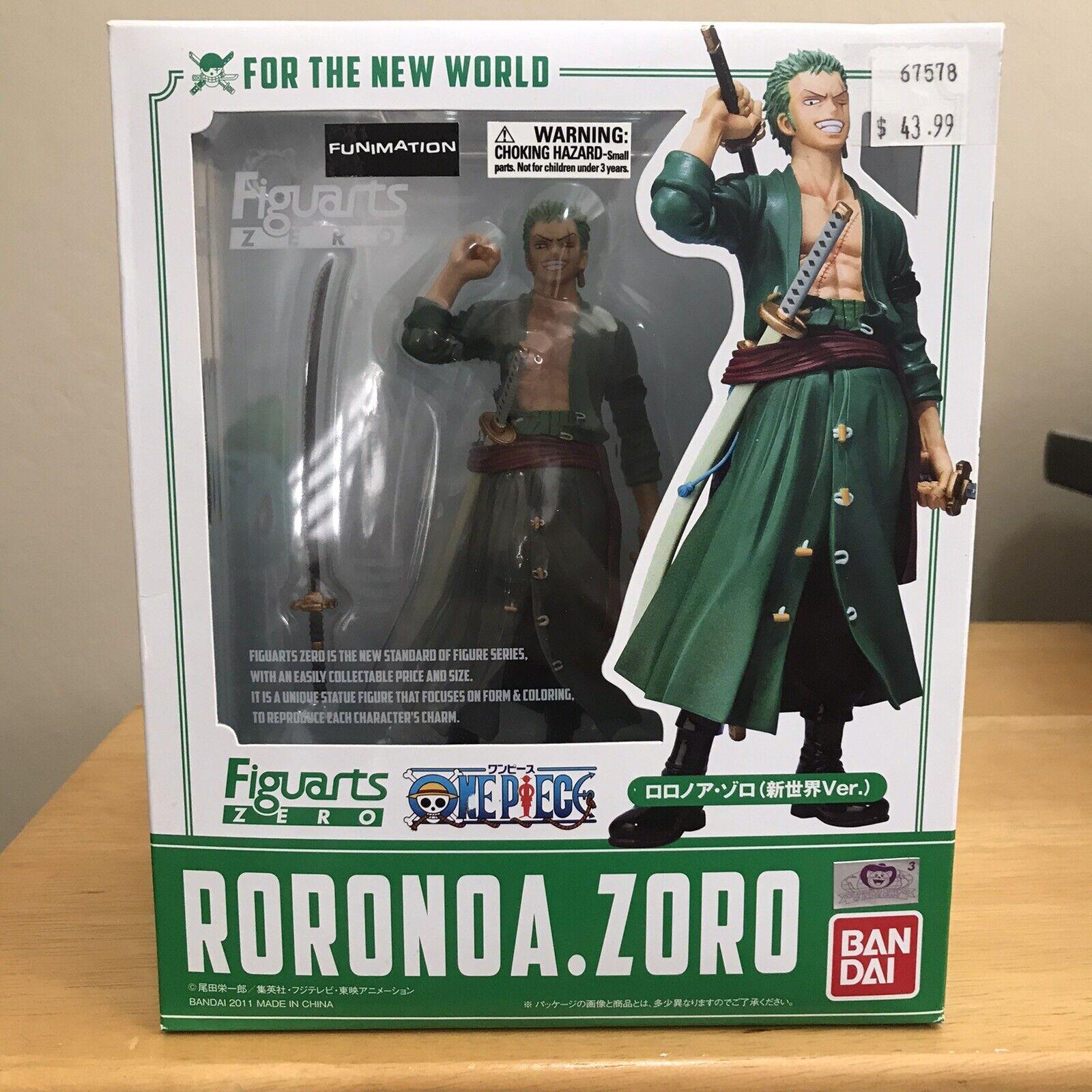 Bandai Figuarts Zero ONE PIECE Roronoa Zoro Ultra Gari PVC Figure 100/% Authentic