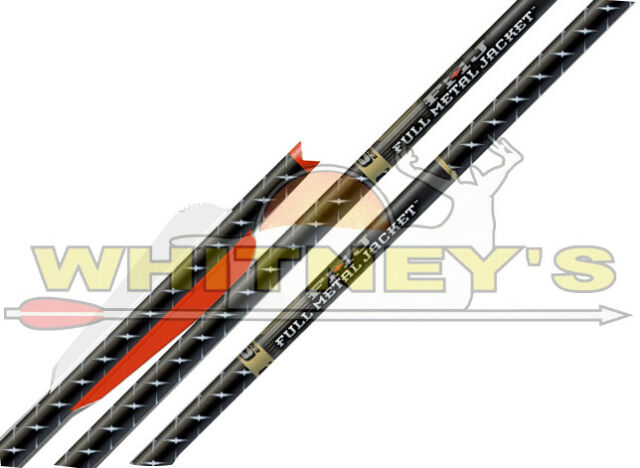 Easton FMJ//Fullmetal Jacket Carbon Core 7075 Alloy Crossbow Bolts 3 pack 20/""