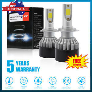 2xOSRAM-H7-980W-140000LM-LED-Car-Headlight-Conversion-Globes-Bulb-Beam-Kit-6500K