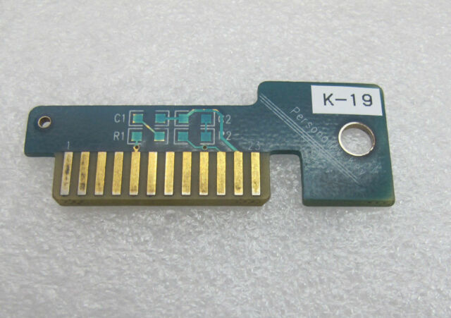 Snap On Scanner Personality Key  S-20 MT2500 Solus Modis Ethos Verus used
