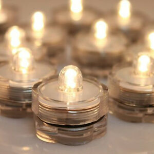 10-Submersible-Battery-LED-Warm-White-Light-Event-Water-Proof-Flower-Table-Decor