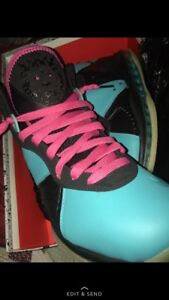 finest selection fc036 9cad3 Image is loading Nike-Lebron-8-South-Beach-custom-size-11