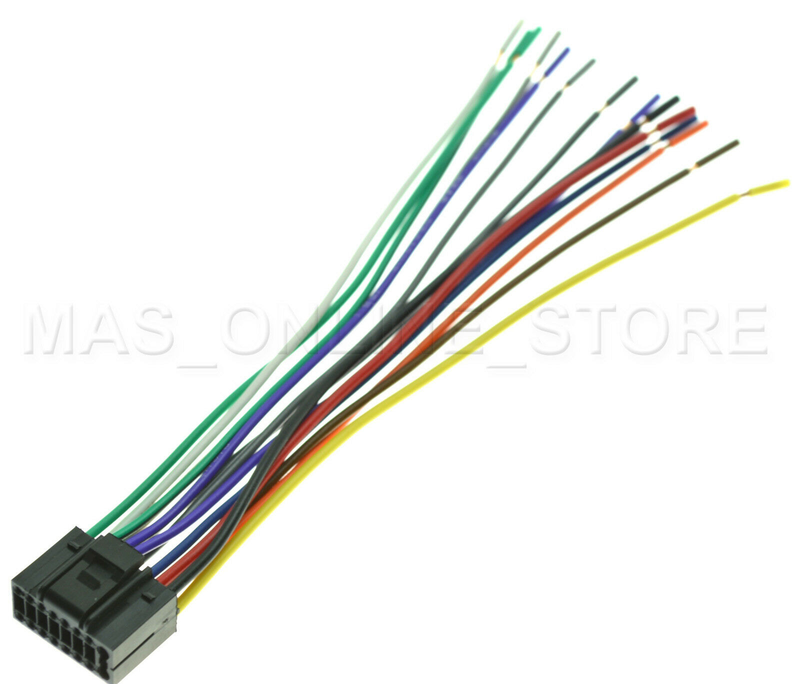 Jvc Kd S39 Wiring Harness R330 Diagram Database R540 Wire For Kds39 Pay Today Ships Ebay