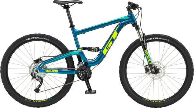 GT Verb Comp 27.5 2018 Full suspension MTB Women Lady Mountain Bikes S Blue