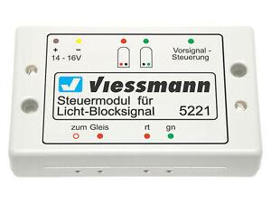 Viessmann-5221-Modulo-de-Control-Para-Bloque-de-la-Senal-Nuevo