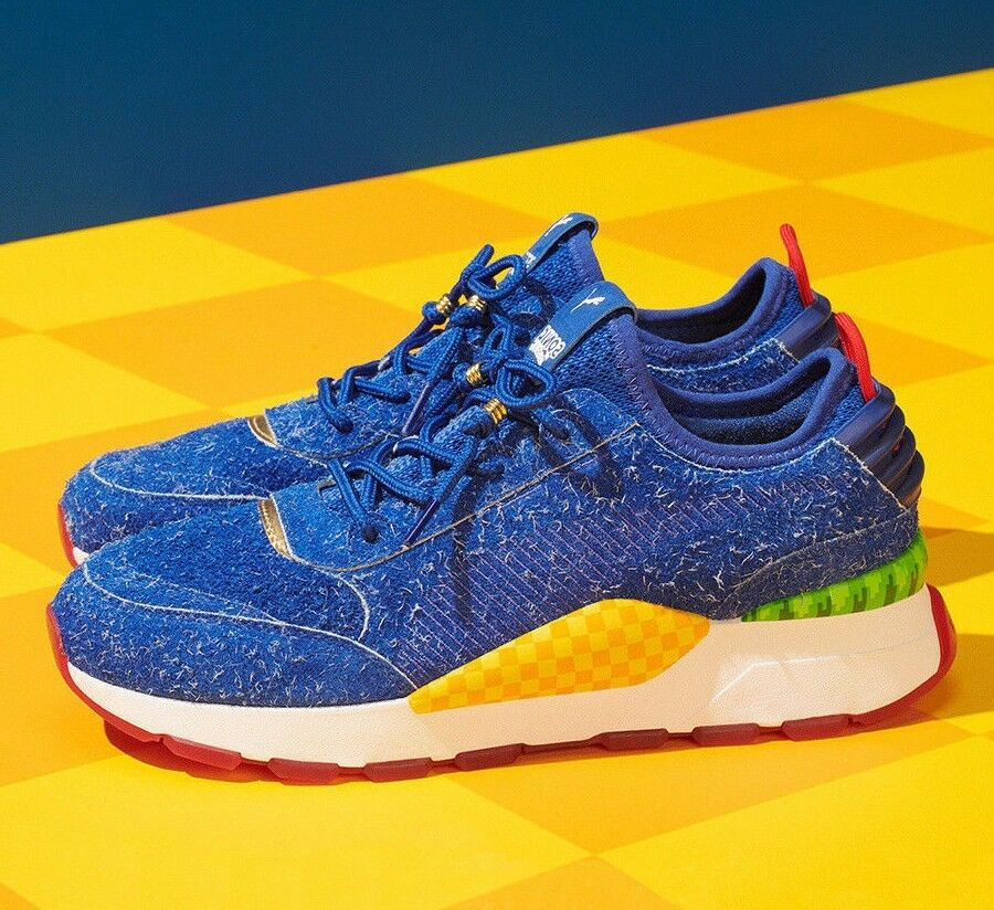 Puma RS-0 SEGA Sonic the Hedgehog Size 8 (IN HAND - READY TO SHIP)