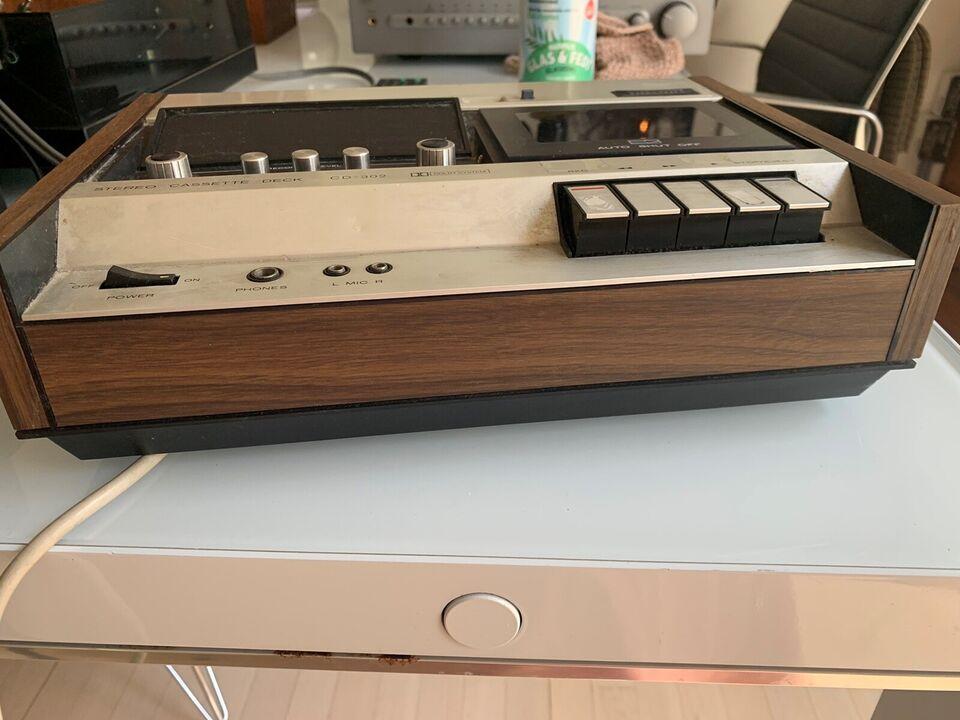 Båndoptager, Andet, Superscope. Stereo kassette deck CD -