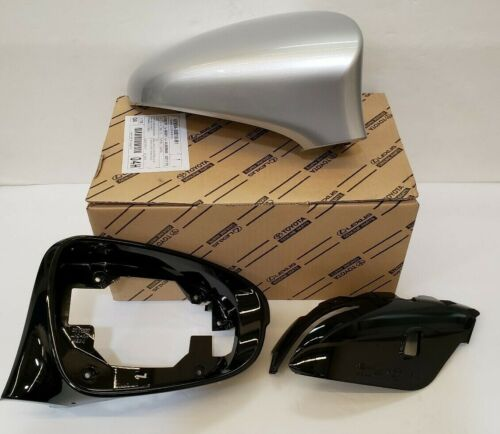 LEXUS OEM PASSENGER SIDE OUTER MIRROR COVER 2013-2019 GS350 1J2 SONIC SILVER