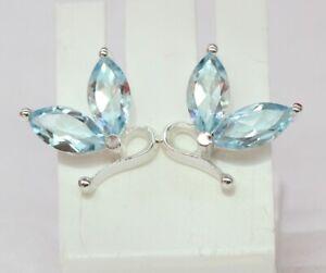 3-6-Carat-Designer-Blautopas-925-Silber-Design-Pur-hellblauer-Edelstein-sky-blue