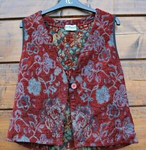 Scandinavian-traditional-bunad-floral-vest-Size-L
