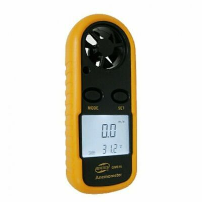 BENETECH LCD Digital Wind Speed Scale Gauge Anemometer Air Flow Meter