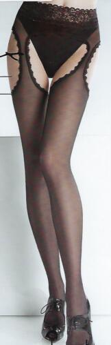 L Mantoux Pierre Ladies Burlesque M S Collant New Negro Nero Ovp 8x6Uwfxq