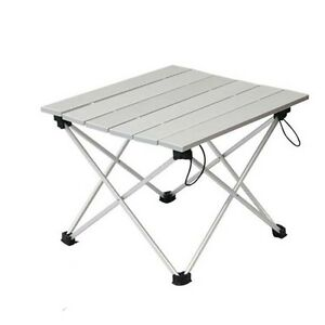 Foldable Folding Picnic Table Portable Camping Table Outdoor Golden Picnic Desk