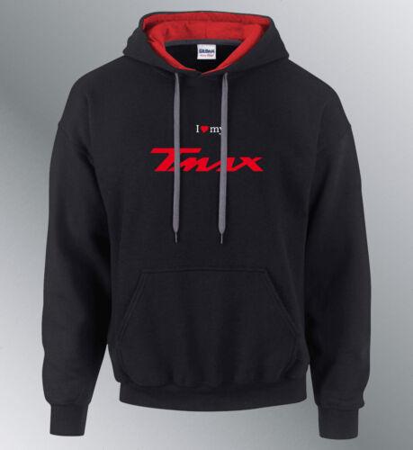 Sweat Shirt Hoodie Customised Scooter Tmax SML XL Hoodie Sweatshirt T-Max