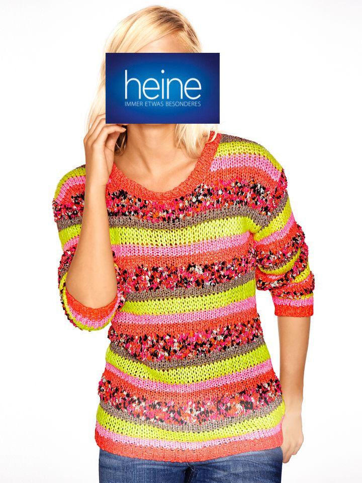 NEU!! Best Connections by heine KP 49,90 € /%SALE/% bunt Pullover B.C