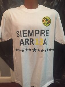 separation shoes e3b1c abe5d Details about NEW Club Aguilas del America CAMPEON Liga MX 2018 - 2019  CHAMPION