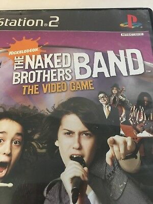 The Naked Brothers Band Video Game PS2 Game 2006 THQ