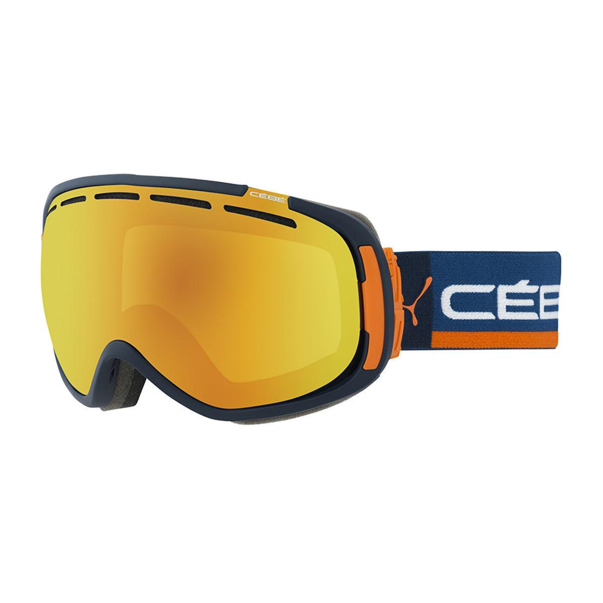 Cebe Feel'in Ski Goggles Cat 2 orange Fire Mirror Lens Unisex CBG123