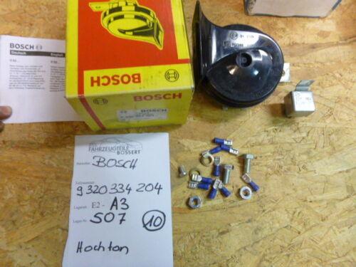 Bosch Signalhorn Fanfare Hochton horn high pitch neu 9320334204 24V 510Hz LKW