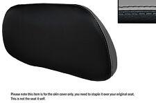 Negro Y Gris personalizado se adapta a Suzuki An 650 Burgman 02-12 respaldo cubierta