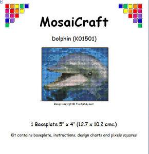 MosaiCraft-Pixel-Craft-Mosaic-Art-Kit-039-Dolphin-039-Pixelhobby