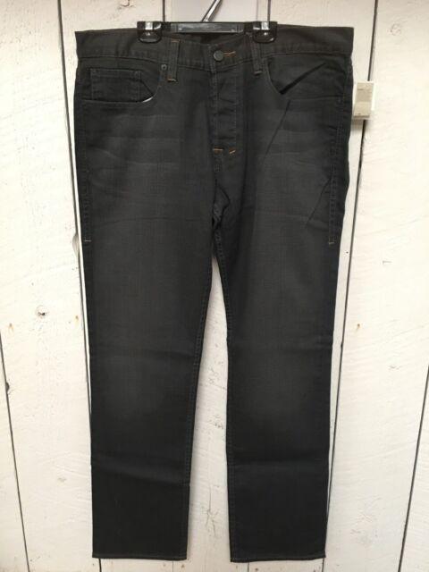 Nwt William Rast men's Jake Straight grey Jeans Size 36  Retail $215
