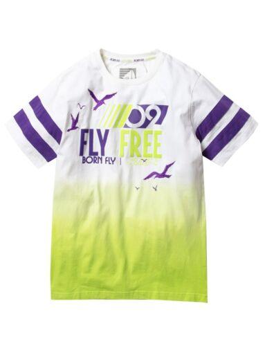 Born Fly White Harbor Dip Dye T-Shirt