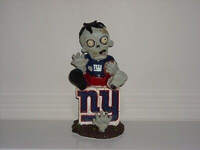 New York Giants Zombie Sitting On Team Logo Nfl Statue Limited Edition Nfl Ebay