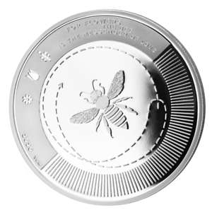 LE-GRAND-MINT-SILVER-BEE-SILBER-BIENE-2020-1-OZ-9999-COIN-Proof-Like-2-Ausgabe