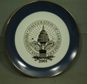 George-W-Bush-Cheney-2001-President-and-Vice-President-Inauguration-plate-8-1-4-034