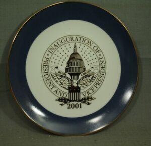 George-W-Bush-Cheney-2001-Presidentes-Y-Vice-Presidentes-Inauguration-Placa-21cm