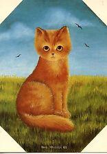 POSTCARD CARTE POSTALE ILLUSTRATEUR ANNA HOLLERER N° LA 20 / CAT / CHAT