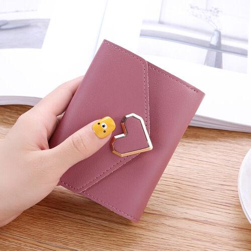 Womens Short Wallet Coin Purse Organizer Pocket Small Credit Card Holder Handbag