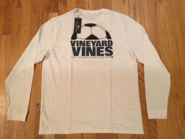 NWT Vineyard Vines Boys S//S Baseball whale Pocket T-Shirt Size L