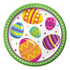 Easter Egg Fun 8 Ct 7\  Dessert Paper Plates Colorful Spring Party  sc 1 st  eBay & Happy Retirement Dessert Paper Plates Parties Celebrations Workplace ...