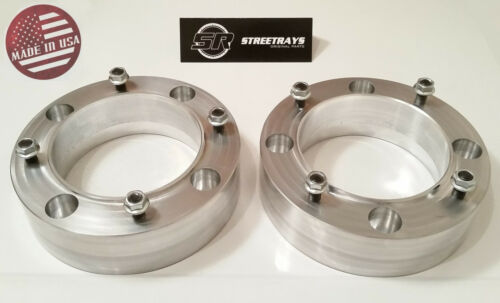 """2pc 2/"""" Thick ATV 4//156 Wheel Spacers for 4x156 Polaris 3//8/"""" Studs Flat Nuts SR"""