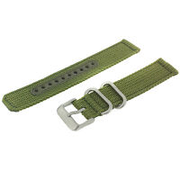 Seiko Original Nylon Watch Band Stainless Heavy Buckle 18 Millimeters