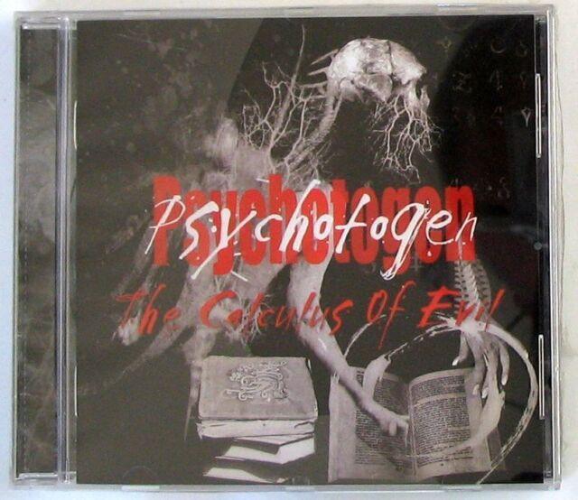 PSYCHOTOGEN - THE CALCULUS OF EVIL - CD Sigillato