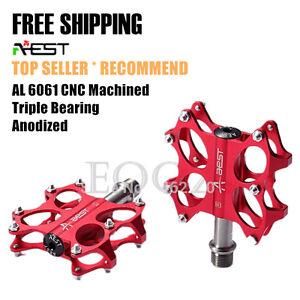 AEST-Bike-MTB-Road-Folding-Platform-Pedal-CNC-Titanium-Spindle-Ti-Steel-Axle