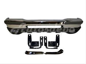 For 98-00 RANGER 2WD STYLESIDE FRONT BUMPER FACE BAR CHR VALANCE BRACKET W//O HO