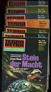 Terra-Astra-Konvolut-7-Stueck-Band-170-171-173-174-175-177-178-Pabel